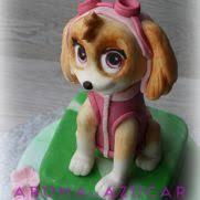skye puppy paw patrol cake 16 cakes cakesdecor