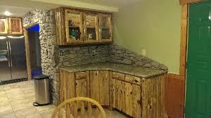 cedar kitchen cabinets lofty design ideas 13 rustic log bath hbe