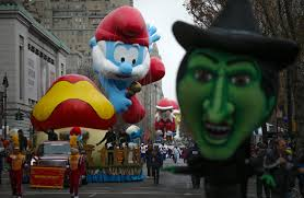 thanksgiving parades 2014 thankful to arrive on snowy u s holiday with power out travel delays