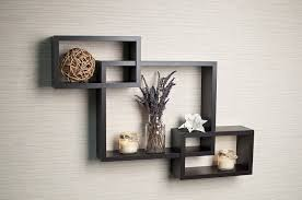 Wooden Wall Shelves With Brackets Amazing Square Box Wall Shelves 54 On Wall Mounting Brackets For
