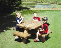 Impressive Octagon Wood Picnic Table Build Your Shed Octagonal by Kid U0027s Octagon Picnic Table Woodworking Pattern I Have This Plan