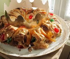 epiphany cake trinkets epiphany and delicious bread king cake rosca de reyes