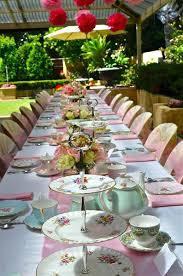 tea party table tea party table setting ideas best afternoon tea wedding ideas on