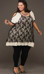 plus size tunic dresses with leggings