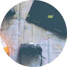 Map A Trip Plan A Trip Green Suitcase Travel
