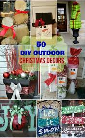 Exterior Christmas Decorations Best 25 Diy Outdoor Christmas Decorations Ideas On Pinterest