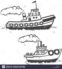 tugboat stock vector images alamy