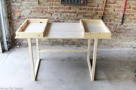 Diy Modern Desk Diy Modern Desk A Beginner Woodworking Project