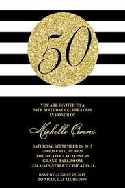 60th birthday invitation silver glitter birthday party invite