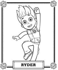 birthday boy coloring pages paw patrol coloring pages paw patrol paw patrol skye and paw