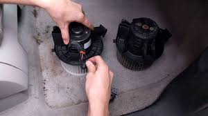 replacing ac blower motor on gmc acadia youtube