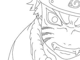 easy color naruto coloring sheets gaara naruto coloring