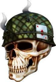 outstanding army skull design tattoos book 65 000
