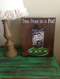 two peas in a pod picture frame vintage bath advertising framed wood sign bathroom washroom decor