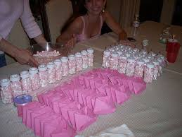 baby shower favor ideas for girl pink and brown baby shower ideas baby shower girly baby shower