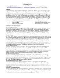 Sample Plain Text Resume by Dorian Jones General Resume Jan 2016