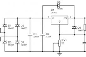 variable power supply circuit diagram pdf wiring diagram