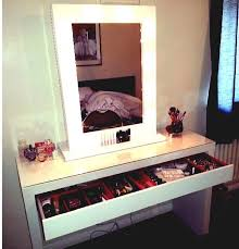 Modern Vanity Table Bathroom Awesome Make A Vanity Makeup Desk With Lights All Home