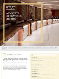 Front Desk Manual 223141345 H Gp Associate Operations Manual Loyalty Program