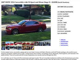 my experience selling to autotrader and craigslist buyers u2013 be car