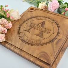 cheese board engraved engraved deluxe square cheese serving chopping board