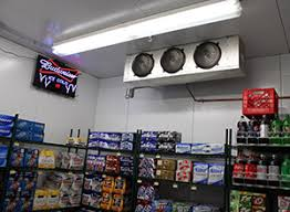 walk in cooler lights walk in beer caves for convenience liquor stores