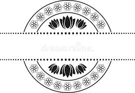 floral badge stock vector image of organic ornaments 39113693