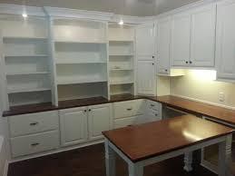 Desk Shapes Furniture Top 25 Diy Built In Desk Cabinets Models Diy L Shapes