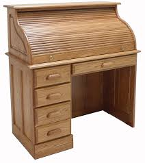 Roll Top Desk Oak 42
