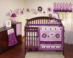 Minnie Mouse Infant Bedding Set Purple Chevron Baby Bedding Sets Tags Purple Baby Bedding Sets