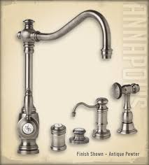 Kitchen Faucets Single Hole Pewter by 44 Best Faucets Images On Pinterest Cook Antique Pewter And Bar
