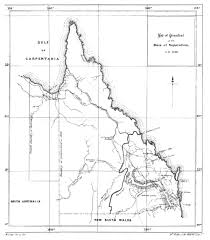 Map Of Queensland History Of The Colony Of Queensland Volume I