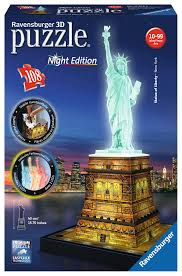 statue of liberty at 3d puzzle ravensburger