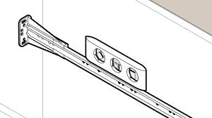kenlin drawer guide cabinet drawer slide sockets kenlin rite trak ii replacement