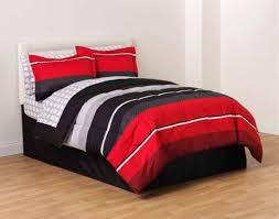 catchy grey orange stripped cotton bedspread guys stripes european