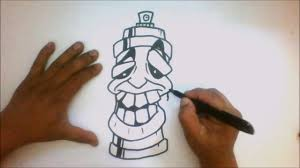 how to draw a spray can cartoon tutorial graffiti youtube