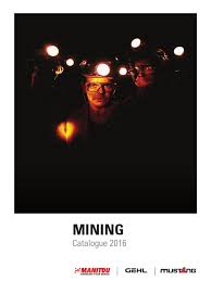 manitou mining catalogue en vehicles loader equipment