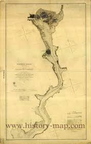 Potomac River On Map River In Civil War