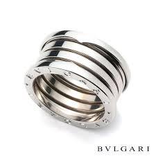 bvlgari rings images 18wg bvlgari b zero1 4 band ring size 57 rich diamonds of bond jpg