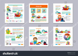 Cleaning The House by Set Flyer Design Brochure Design Other Stock Vector 391374463