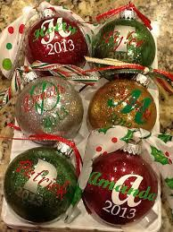 ornament balls with names all ideas about