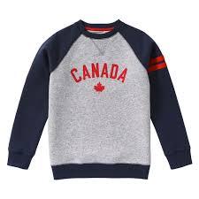 canada sweater kid boys canada sweatshirt in navy from joe fresh