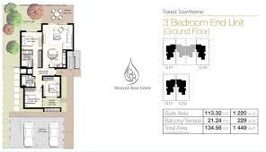 urbana 3 floor plans binayah real estate