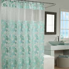engaging grey accents wall paint of modern bathroom design idea cool bathroom with cute light green accents curtain pattern and comfy white freestanding bathtub also excellent cool bathroom design