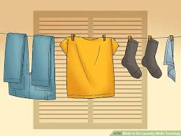 how to do laundry while traveling with pictures wikihow