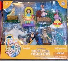 walt disney s theme park characters collectible figurines set a