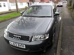 audi crawley used cars used 2003 audi a4 avant 1 9 tdi se 5dr mot jan 2017 for sale in