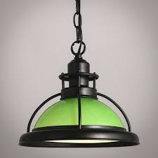 Green Pendant Lights Fashion Style Pendant Lights Green Industrial Lighting