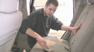 auto detailing how to clean upholstery in a car with home