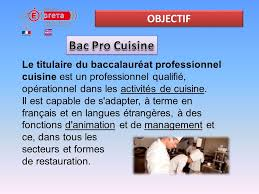terme de cuisine bac pro cuisine et csr ppt télécharger